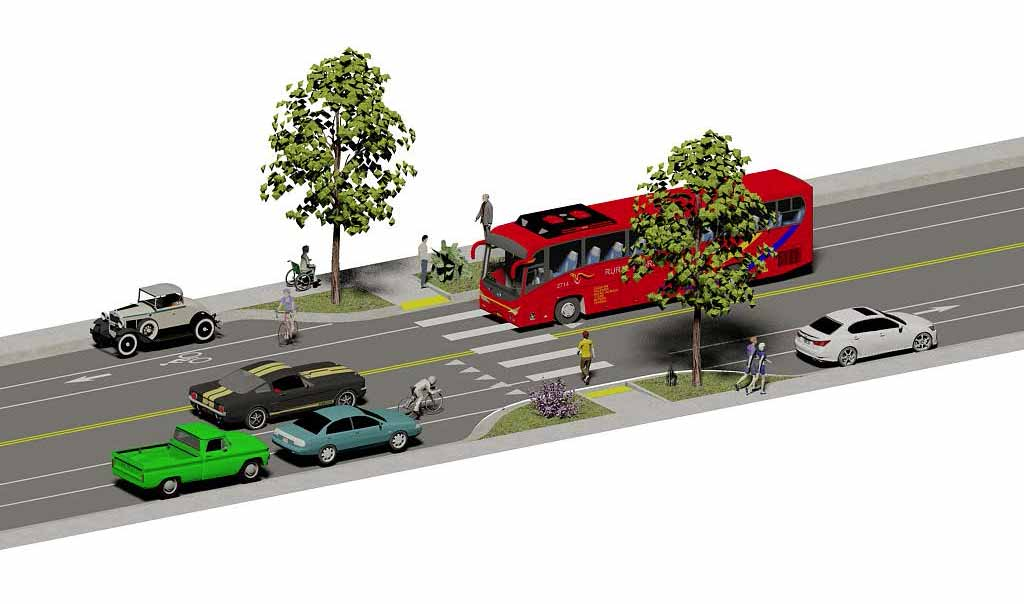 taos roadway rendering